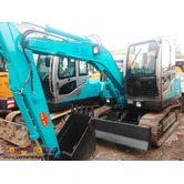BACKHOE EXCAVATOR LOADER (wheel/chain type)