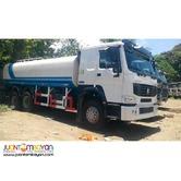 HOWO SINOTRUK water truck 371HP, 20KL