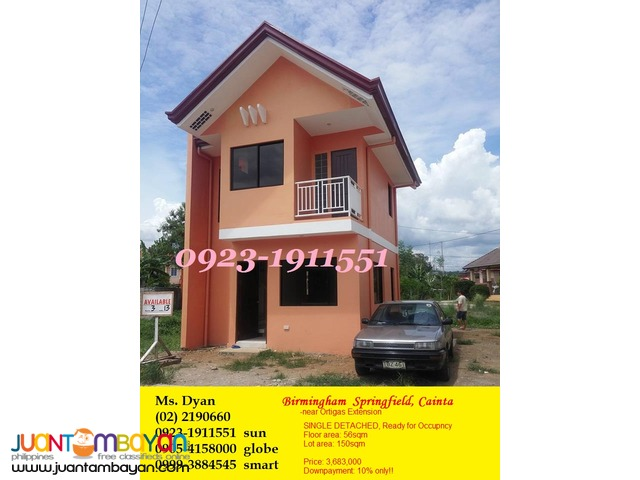 Duplex House for Sale in Guitnang Bayan SanMateo Birmingham Alberto