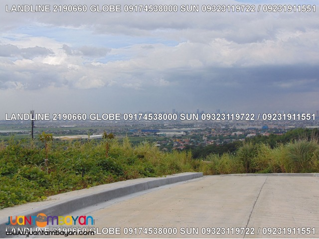 Sunnyville East Manor Lot Sale overlooking BGC and Laguna Lake