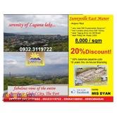 Lot for Sale overlooking at BGC n Laguna Lake Sunnyville Angono