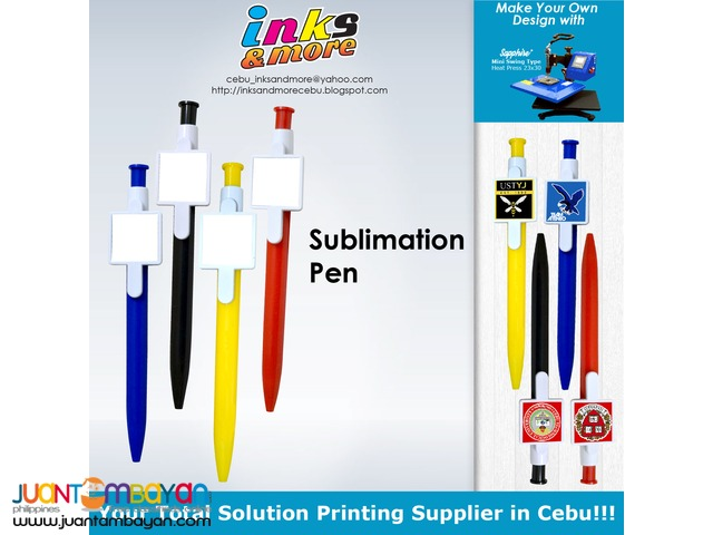 Personalized Printing Business Cebu - Sublimation Pen