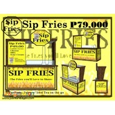 Sip Fries Food Cart Franchise Promo P79,000 Only!