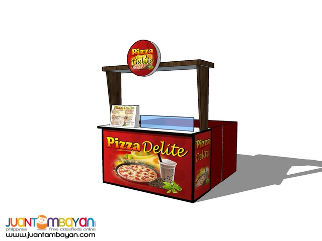 Pizza Delite Food Cart Franchise P79,000 Only!