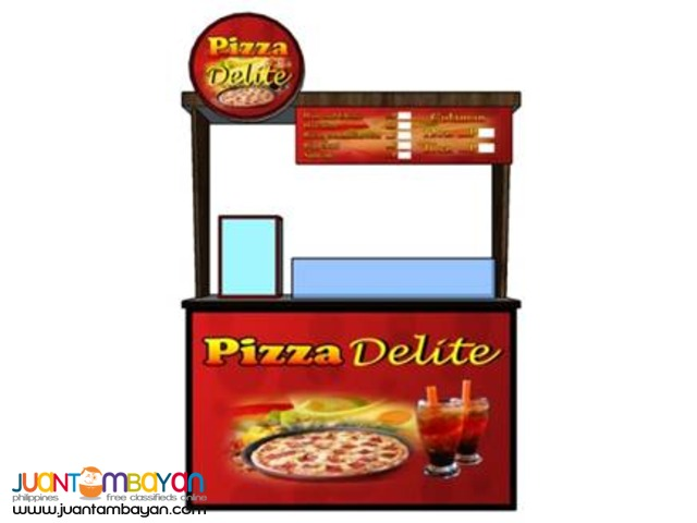 Pizza Delite Food Cart Franchise P99,000 Only!