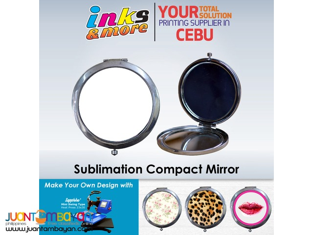 Personalized Printing Business Cebu - Sublimation Compact Mirror