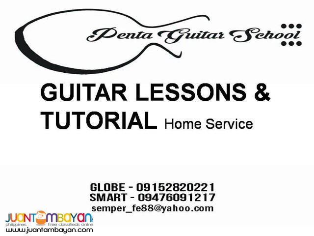 GUITAR LESSONS for students and young Adults