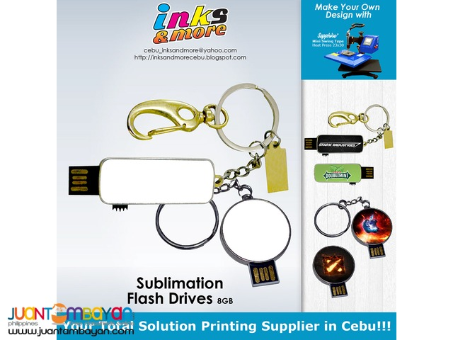 Personalized Printing Business Cebu - Sublimation USB Flash Drive