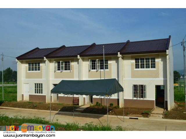 PRE SELLING CLAYTON HILLS NEW TOWNHOUSE HOUSING THRU PAGIBIG