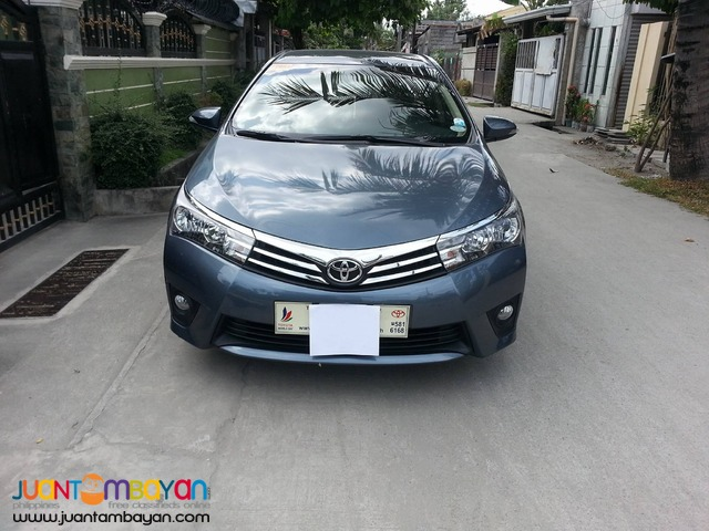 TOYOTA ALTIS 2016 Model Makati City
