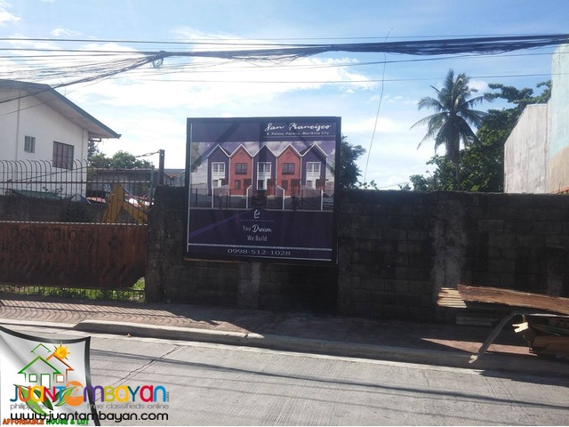 FOR SALE SAN FRANCISCO HOMES 3BR FLOOD FREE AREA IN MARIKINA