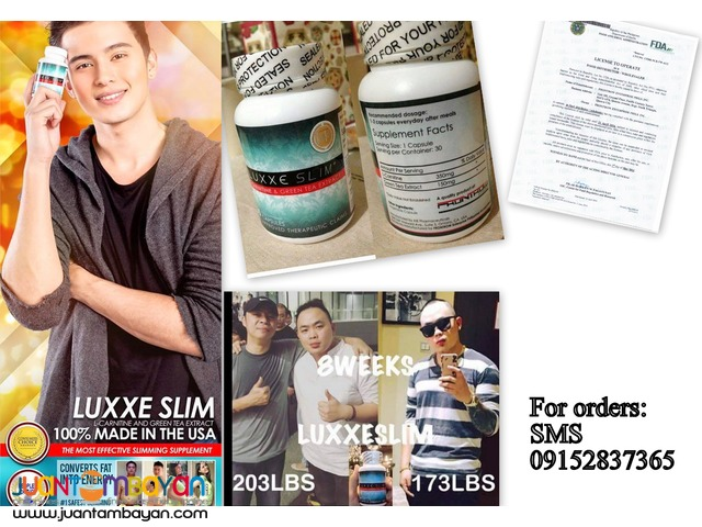 Luxxe Slim Lcarnitine and Green Tea Extract