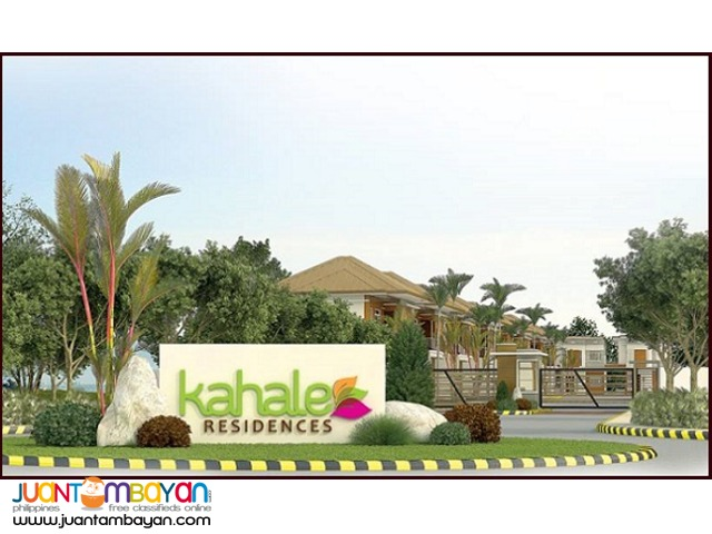 Kahale Residences Minglanilla Cebu house and lot