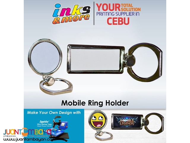 Personalized Printing Business Cebu - Sublimation Mobile Ring Holder