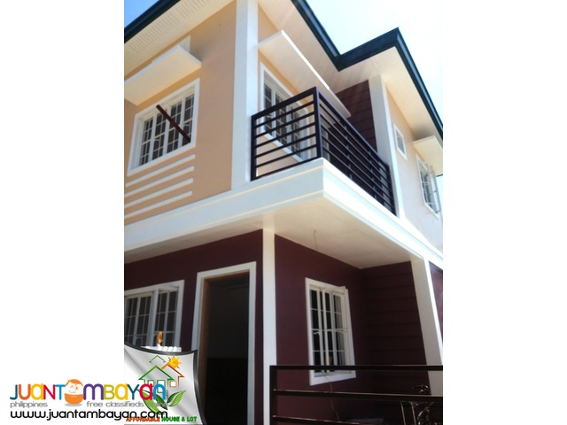 Single Attached House thru Pagibig Placid Homes 3 near SM City
