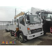 6 Wheeler Boom Truck with 3.2T Boomer  4cylinder in line