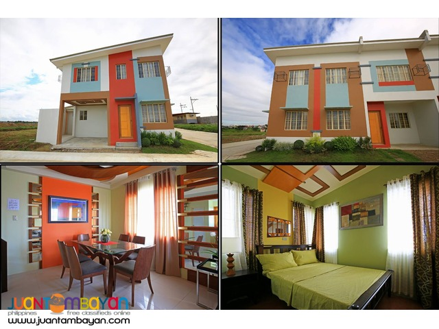 Golden horizon low cost townhouse thru pag ibig housing for Townhouse construction cost