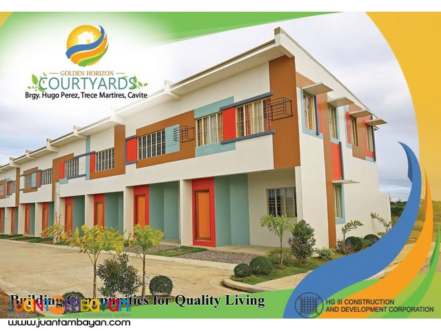 golden horizon low cost townhouse thru pag ibig housing loan