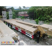 Two-Axle Lowbed Semi-Trailer (45Tons) (Tire: 10.00-20/8pcs)