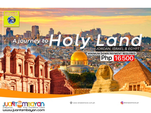 ALL IN! 12Days and 11 Nights Holy land