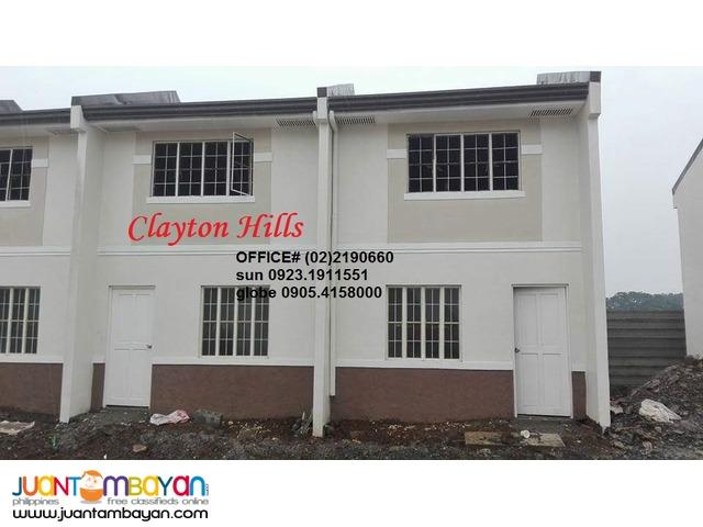 Clayton Heights SanMateo Murang Pabahay ng Pagibig