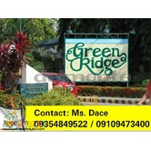 GREENRIDGE INVESTMENT LOT FOR SALE 20% DISCOUNT FOR SPOTCASH DP