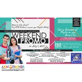 PTE Academic Weekend Promo – July 1, 2017