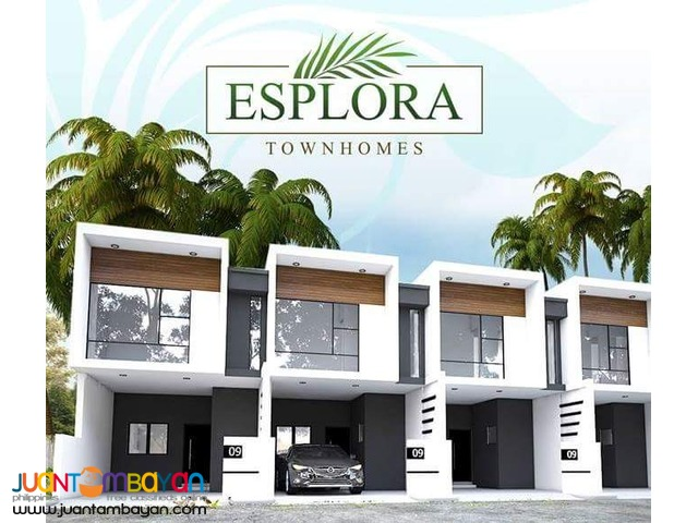 FOR SALE ESPLORA TOWNHOUSE 3BR 2T&B NEAR LRT
