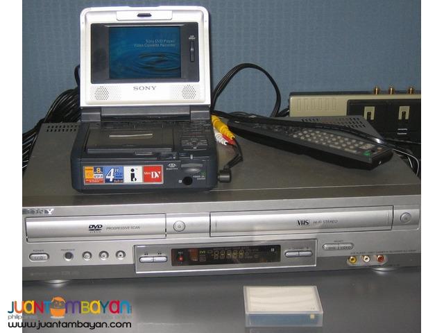 Video Convert VHS Video 8 Hi8 mini dv VHSC digital 8 transfer to DVD