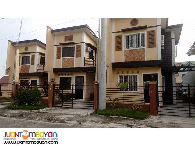PLACID HOMES THREE BEDROOM HOUSE AND LOT THRU PAGIBIG