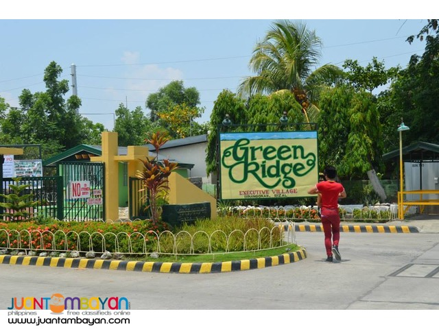 Greenridge Subdivision Binangonan Lot for Sale 20% Discount Sta Lucia