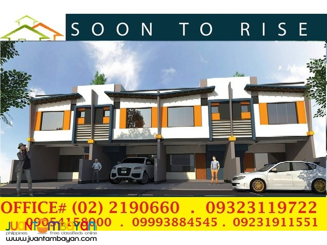 Firebird The Nest House n Lot for Sale Marikina Heights