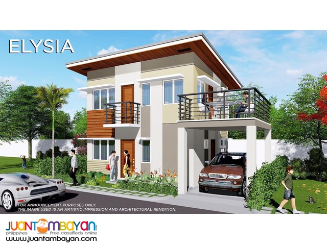 4br house and lot liloan cebu elysia model modena subdivision