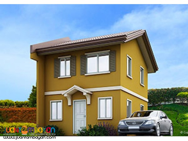 Cara most affordable 3br single house riverfront camella cebu