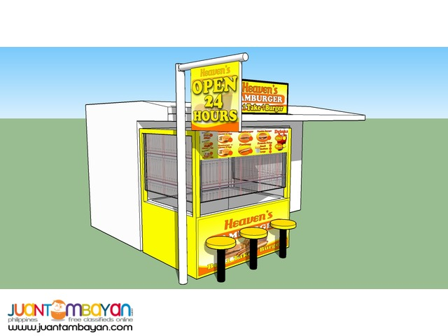 Heaven's Hamburger Food Stall Franchise