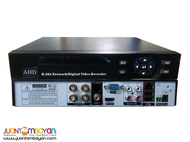 Scouter -CCCTV- 4 channel DVR 5n1 (Support: AHD-Analog-TVI-CVI-IP)