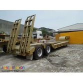 40 ft tri axle flatbed semi trailer 45 tons for sale