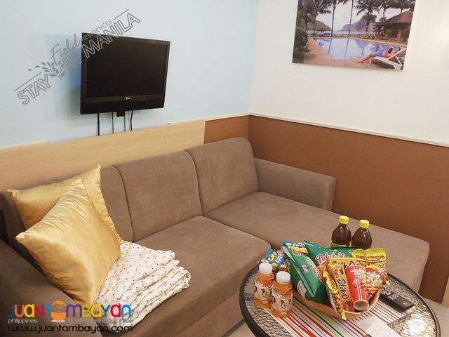 SM Field Residences 1 BR Manila Vacation Rental in Sucat Paranaque