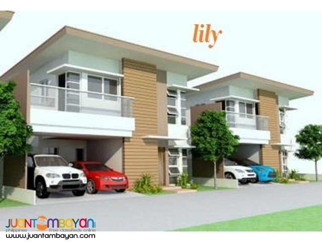 LILY MODEL ( With Basement) house and lot near CIS pit os cebu