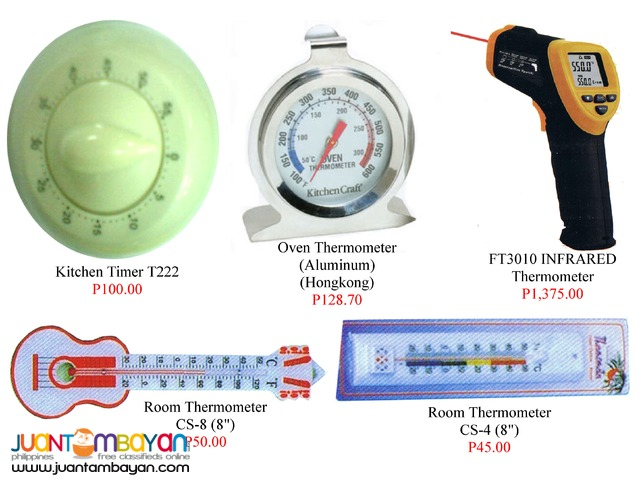 Room Thermometer Timer Infrared thermometer and Kitchen Timer
