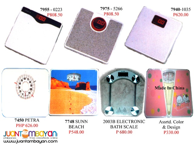 Electronic Bathroom scales Weighing scale