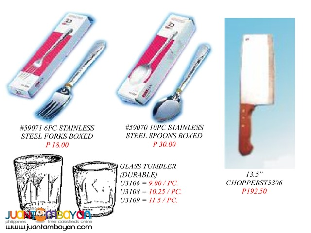 Pulse Igniter Lighter Coffee heater Glass tumbler Knife chopper