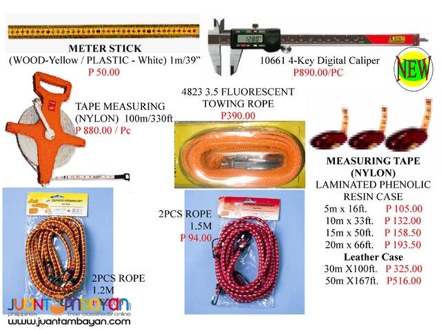 Pliers Padlock Tie Belt and Tape Measure