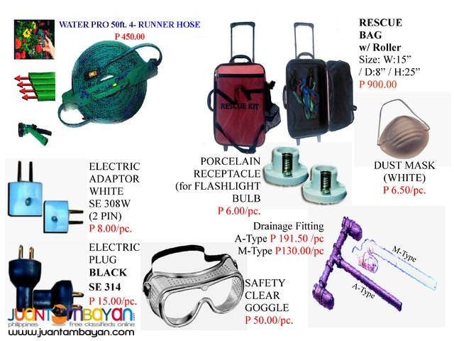 Hardware Receptacle Electric Plug Electric safety clear goggle