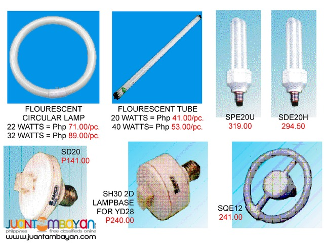 Flash Light Led Bulb and Other Lightning features ( SANEX )