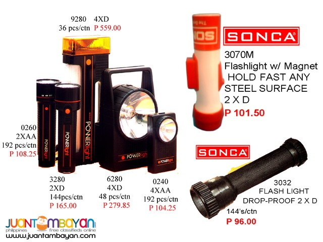 Flash Light Led Bulb and Other Lightning features ( SONCA )