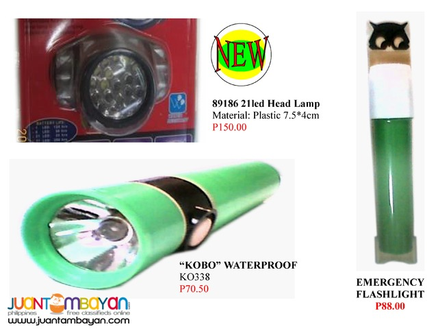 Flash Light Led Bulb and Other Lightning features