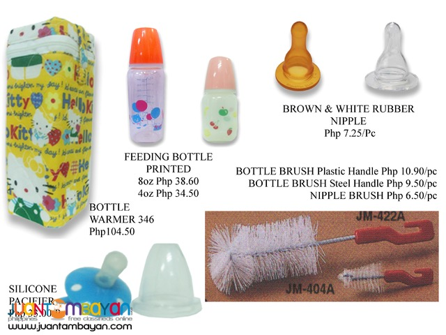 Baby stuff-Child Safety Product Teether Feeding Bottle