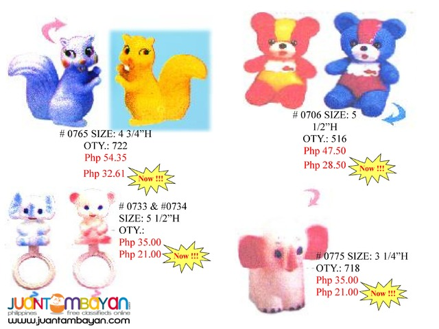 Baby Stuff Squeeze Toys