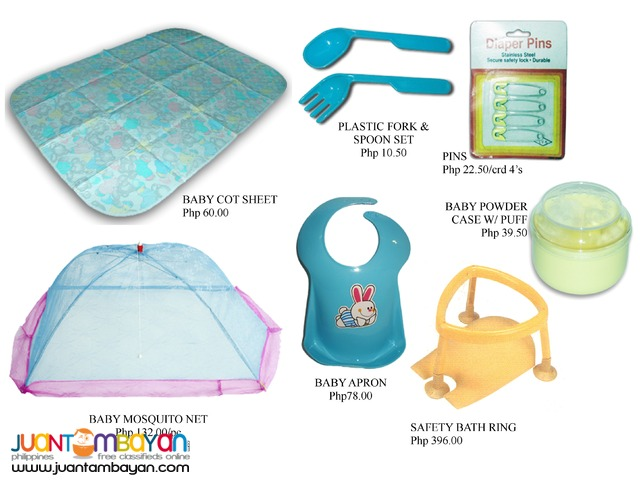 Mosquito Net Safety Bath Fork and Spoon Food Warmer Cot Sheet